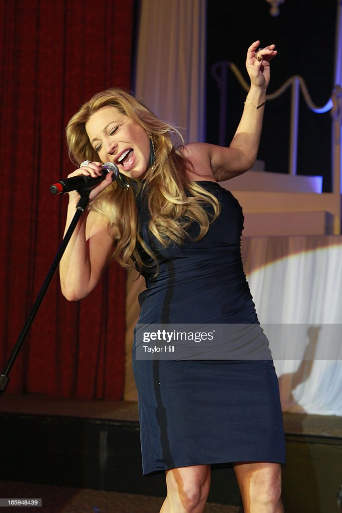 Singer Taylor Dayne performs at the 27th Annual Night Of A Thousand Gowns at the Hilton New York on April 6, 2013 in New York City.