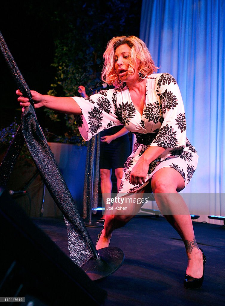 Singer Taylor Dayne performs on stage during the 9th Annual amfAR Honoring With Pride Celebration at the Hudson on June 9 2008 in New York City