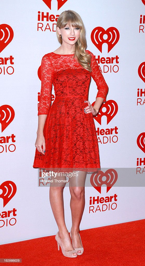 Singer Taylor Swift attends day 2 of the 2012 iHeartRadio Music Festival at MGM Grand Garden Arena on September 22, 2012 in Las Vegas, Nevada.