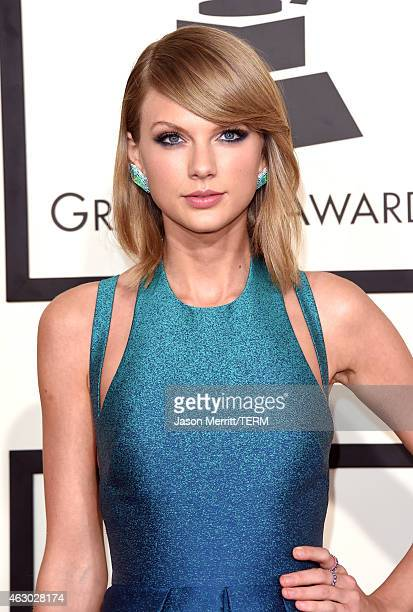 Singer Taylor Swift attends The 57th Annual GRAMMY Awards at the STAPLES Center on February 8 2015 in Los Angeles California