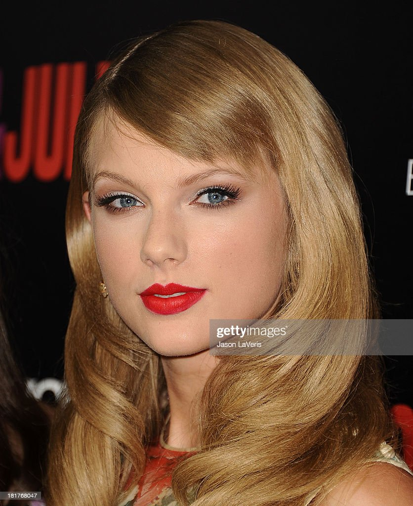 Singer <a gi-track='captionPersonalityLinkClicked' href=/galleries/search?phrase=Taylor+Swift&family=editorial&specificpeople=619504 ng-click='$event.stopPropagation()'>Taylor Swift</a> attends the premiere of 'Romeo And Juliet' at ArcLight Hollywood on September 24, 2013 in Hollywood, California.