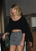 Singer Taylor Swift is seen in Soho on September 15 2014 in New York City