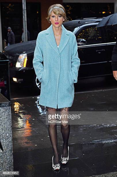Singer Taylor Swift is seen on December 24 2014 in New York City