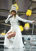 Singer Taylor Swift performs onstage at the 55th Annual GRAMMY Awards at Staples Center on February 10 2013 in Los Angeles California