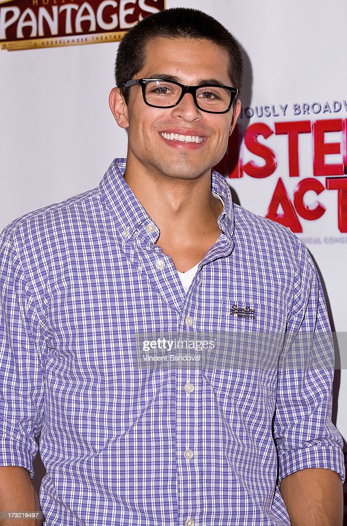 Singer Taylor Wayne Watts attends the Los Angeles opening night of 'Sister Act' at the Pantages Theatre on July 9, 2013 in Hollywood, California.