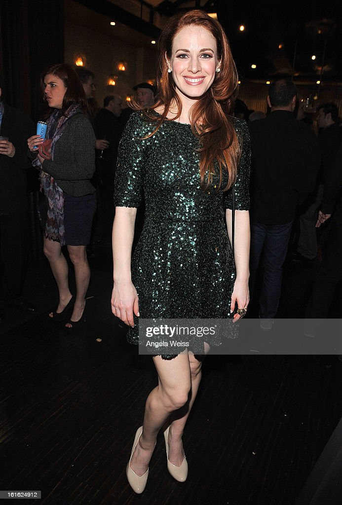 Singer Teal Wicks attends the opening night after party of 'Jekyll & Hyde' held at Beso on February 12, 2013 in Hollywood, California.