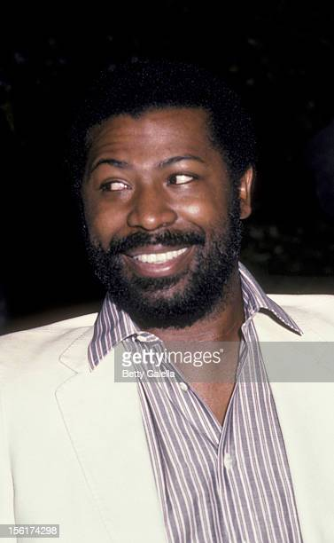 Singer Teddy Pendergrass attends the taping of 'As The World Turns' on July 28 1984 at CBS TV Studios in New York City