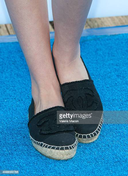 Singer Temara Melek arrives at the 15th Annual Party On The Pier Hosted By Sarah Michelle Gellar at Santa Monica Pier on October 5 2014 in Santa...