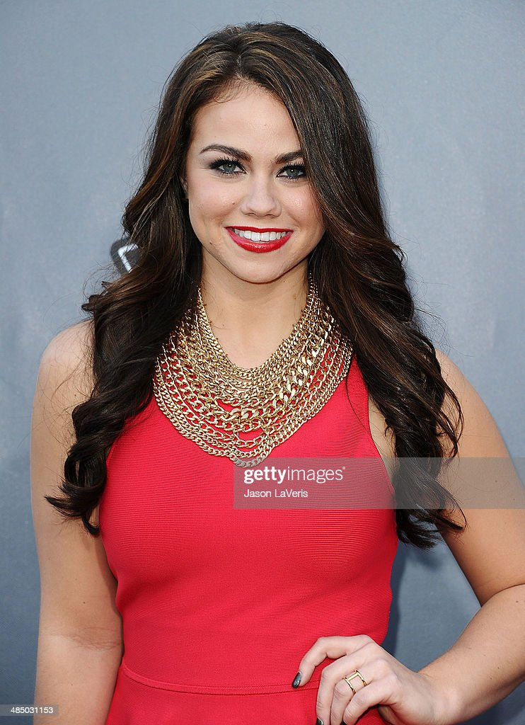 Singer Tess Boyer attends 'The Voice' season 6 top 12 red carpet event at Universal CityWalk on April 15, 2014 in Universal City, California.
