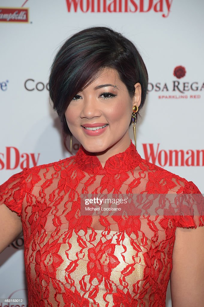 Singer Tessanne Chin attends the Woman's Day Red Dress Awards on February 10 2015 in New York City