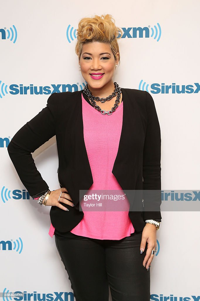 Singer Tessanne Chin visits the SiriusXM Studios on October 27 2014 in New York City