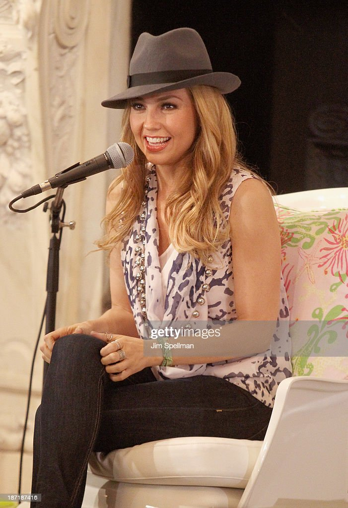 Singer <a gi-track='captionPersonalityLinkClicked' href=/galleries/search?phrase=Thalia&family=editorial&specificpeople=202218 ng-click='$event.stopPropagation()'>Thalia</a> attends <a gi-track='captionPersonalityLinkClicked' href=/galleries/search?phrase=Thalia&family=editorial&specificpeople=202218 ng-click='$event.stopPropagation()'>Thalia</a>'s 'Chupie: The Binky That Returned Home' Book Launch Party at New York Public Library - Stephen A Schwartzman Building on November 6, 2013 in New York City.