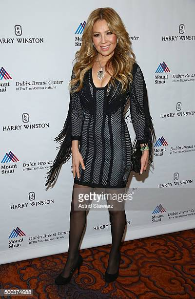 Singer Thalia attends the 5th Annual Dubin Breast Center At Mount Sinai Benefit at Mandarin Oriental Hotel on December 7 2015 in New York City