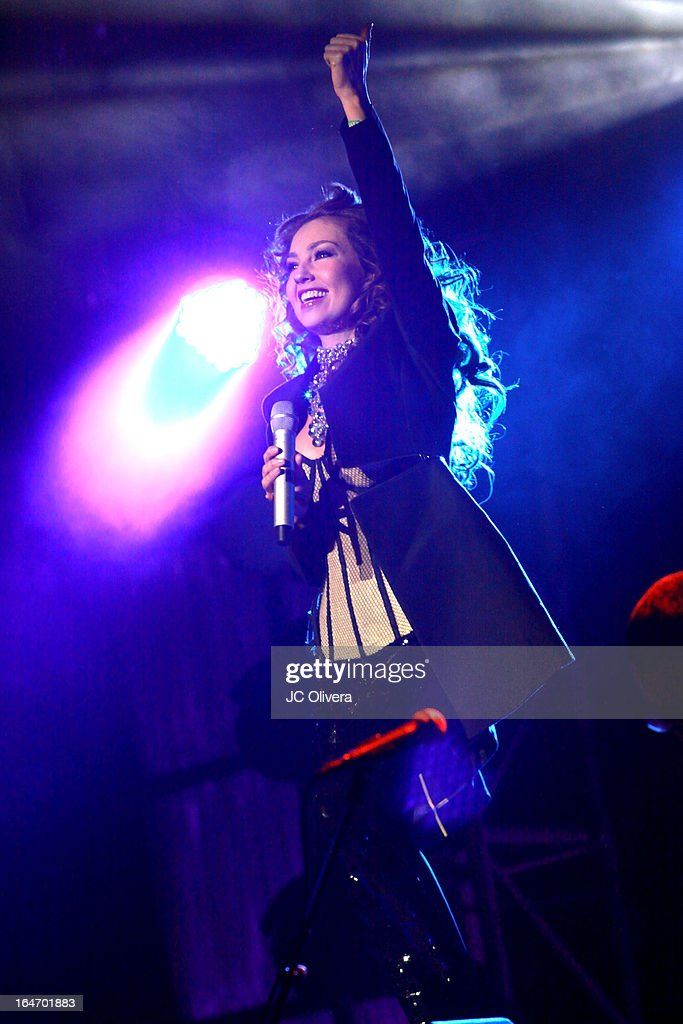 Thalia In Concert - Los Angeles, CA | Getty Images