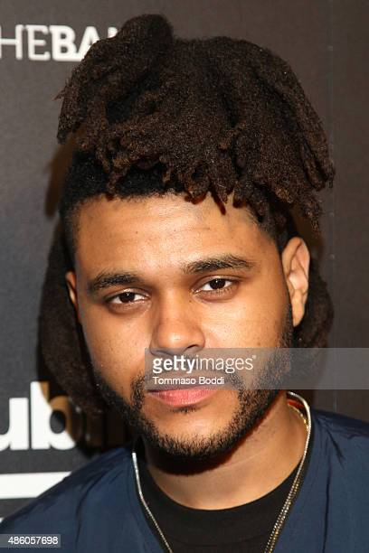 Singer The Weeknd attends Republic Records 2015 VMA after party at Ysabel on August 30 2015 in West Hollywood California