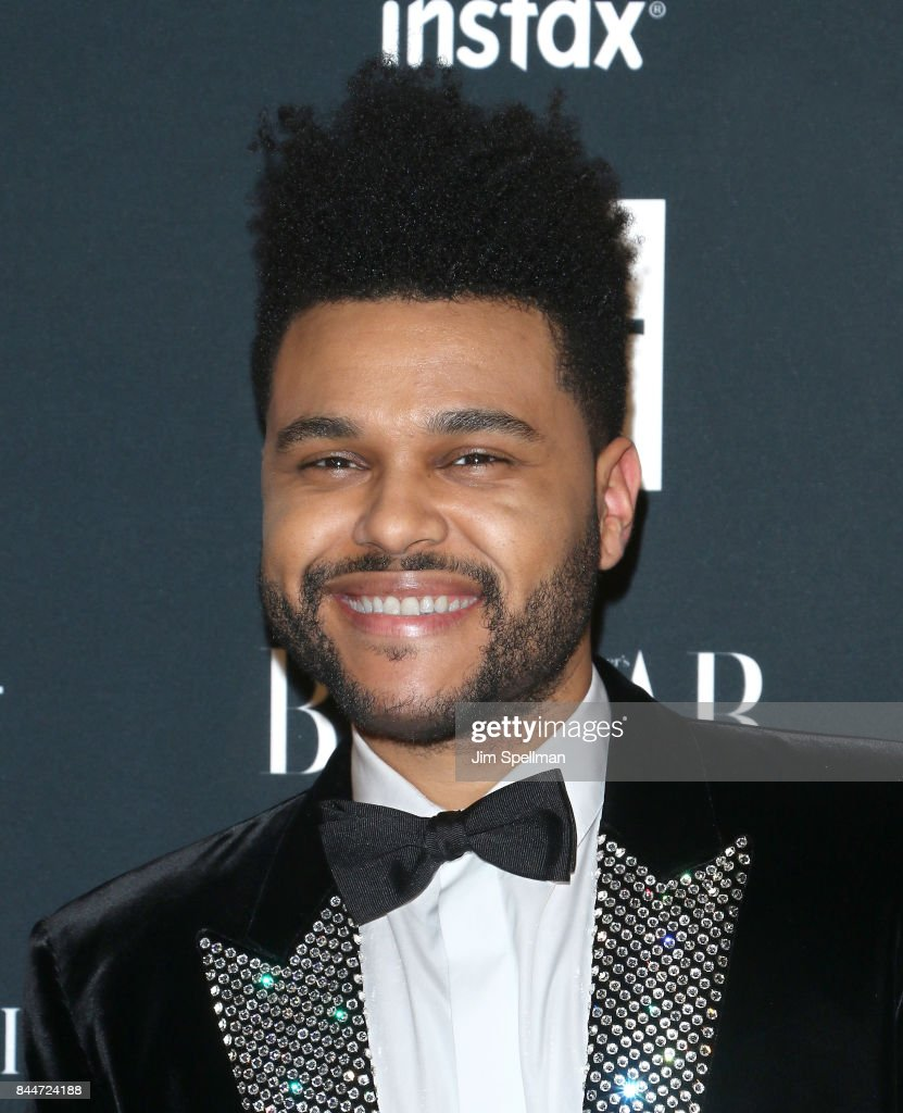 Singer The Weeknd attends the 2017 Harper's Bazaar Icons at The Plaza Hotel on September 8, 2017 in New York City.