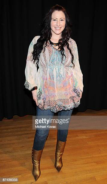 Singer Tiffany appears at 'Deborah Gibson's Electric Youth' Performing Arts Camp Scholarship Audition at The Howard Fine Acting Studio on May 16 2009...