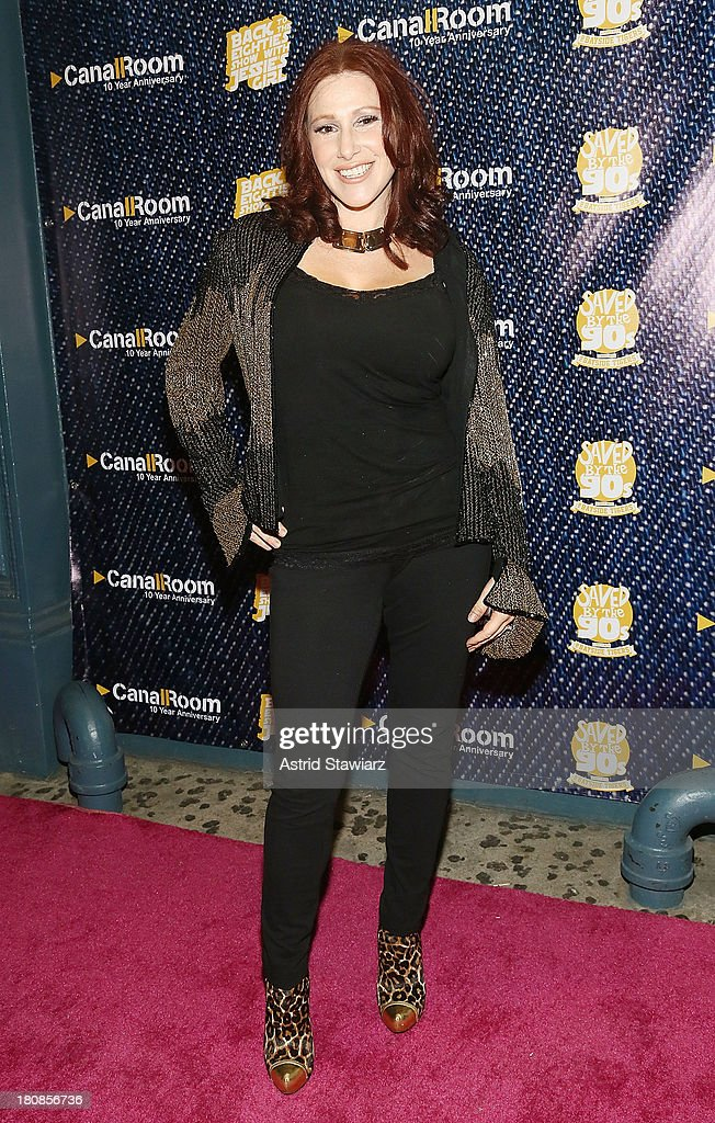 Singer <a gi-track='captionPersonalityLinkClicked' href=/galleries/search?phrase=Tiffany+-+Pop+Musician&family=editorial&specificpeople=133109 ng-click='$event.stopPropagation()'>Tiffany</a> attends Canal Room's 10 Year Anniversary at Canal Room on September 16, 2013 in New York City.