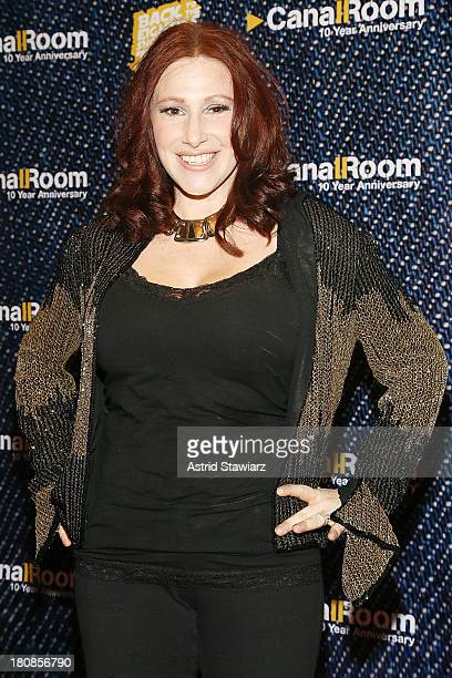 Singer Tiffany attends Canal Room's 10 Year Anniversary at Canal Room on September 16 2013 in New York City