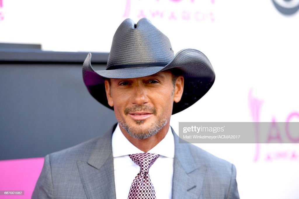 Singer Tim McGraw attends the 52nd Academy Of Country Music Awards at T-Mobile Arena on April 2, 2017 in Las Vegas, Nevada.