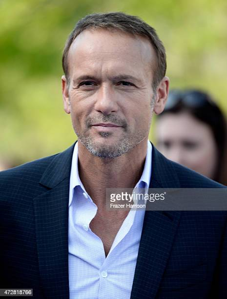 Singer Tim McGraw attends the Premiere Of Disney's 'Tomorrowland' at AMC Downtown Disney 12 Theater on May 9 2015 in Anaheim California