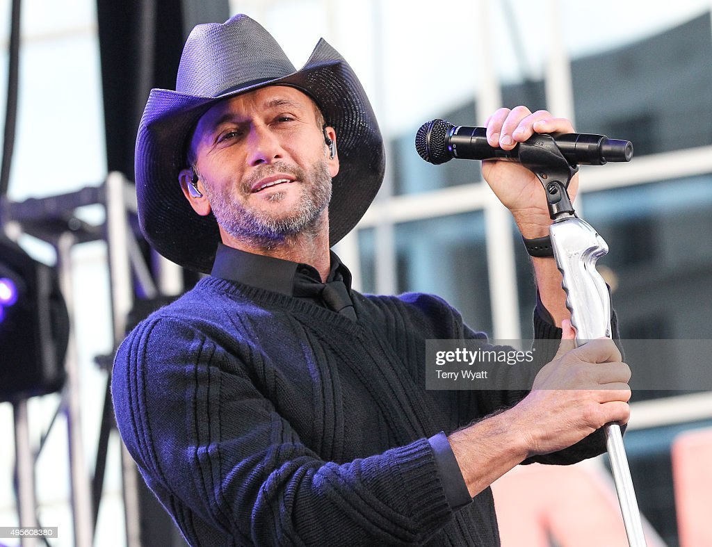 "Tim McGraw Performs On ABC's ""Good Morning America"""