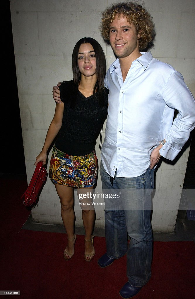 Singer Tina Barratt with unidentified friend arrives at the Launch party of Rex Cinema, May 15, 2003 Rupert Stree, Soho, London, United Kingdom.