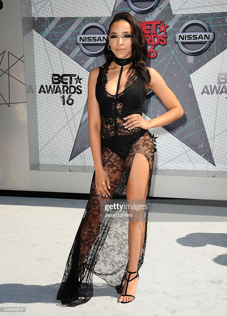 Singer Tinashe attends the 2016 BET Awards at Microsoft Theater on June 26, 2016 in Los Angeles, California.