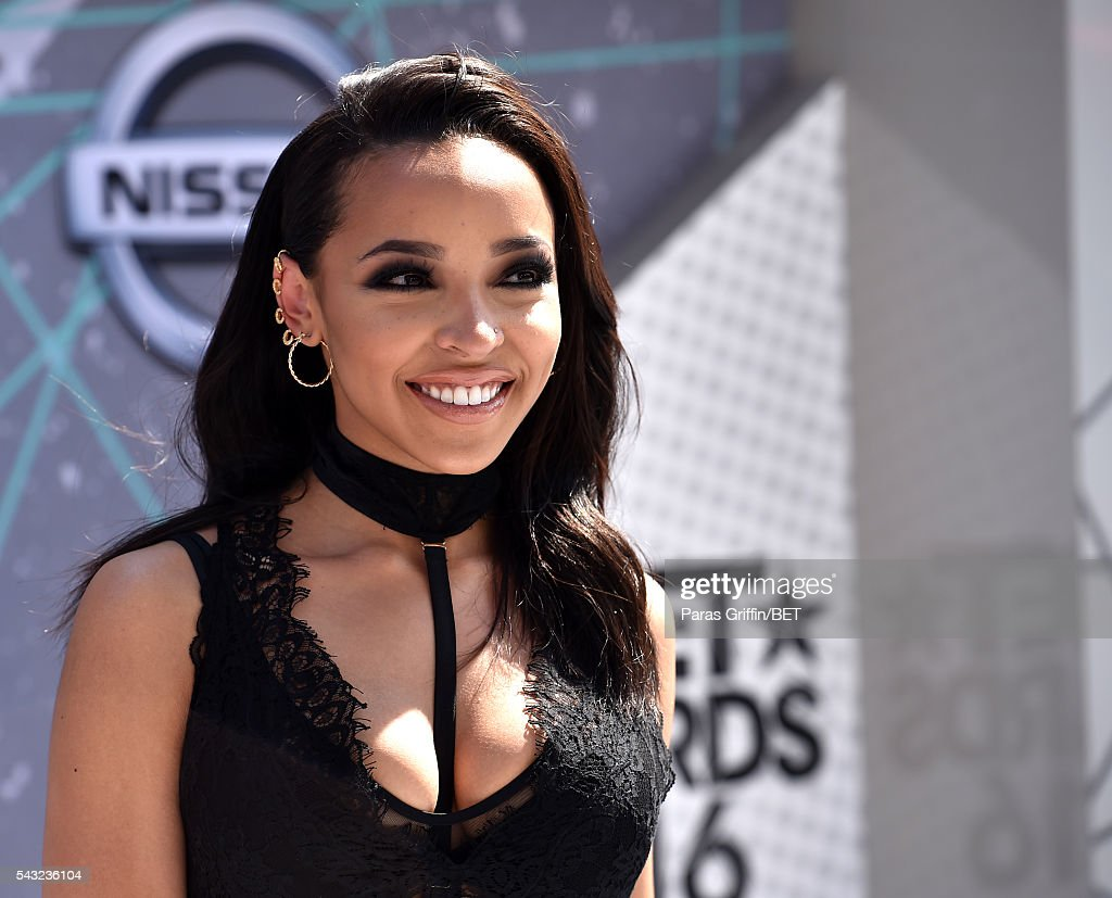 Singer Tinashe attends the 2016 BET Awards at the Microsoft Theater on June 26, 2016 in Los Angeles, California.