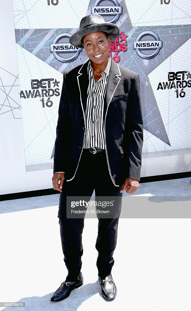 Singer Tish Hyman attends the 2016 BET Awards at the Microsoft Theater on June 26, 2016 in Los Angeles, California.