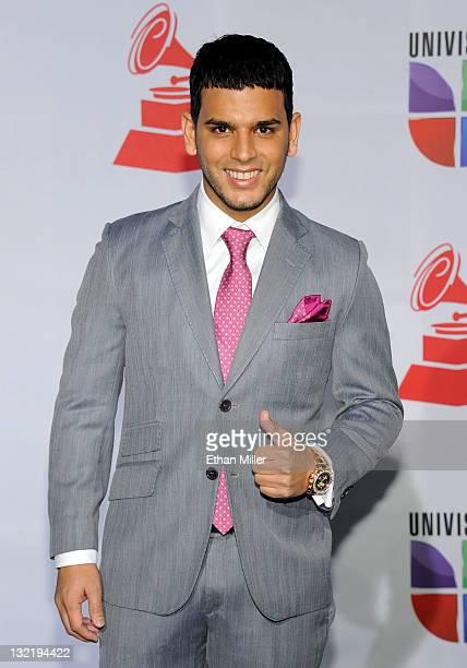 Singer Tito El Bambino arrives at the 12th annual Latin GRAMMY Awards at the Mandalay Bay Resort Casino on November 10 2011 in Las Vegas Nevada