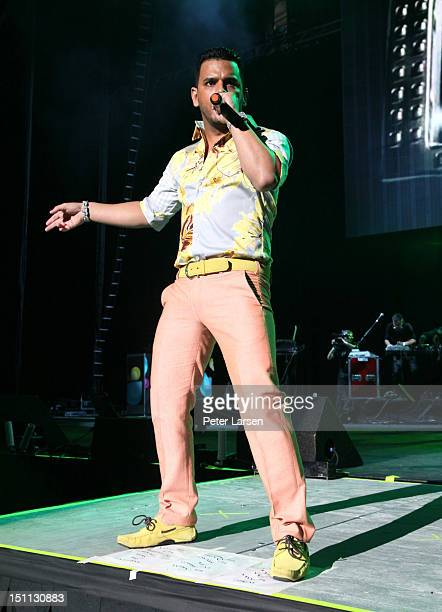 Singer Tito El Bambino performs onstage during People En Espanol's Festival 2012 held at the Alamodome on September 1 2012 in San Antonio Texas