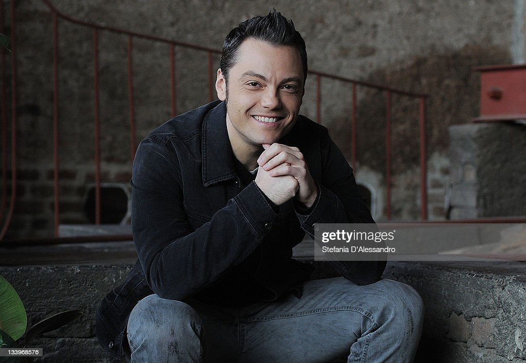 Tiziano Ferro Photocall At The Fonderia Napoleonica