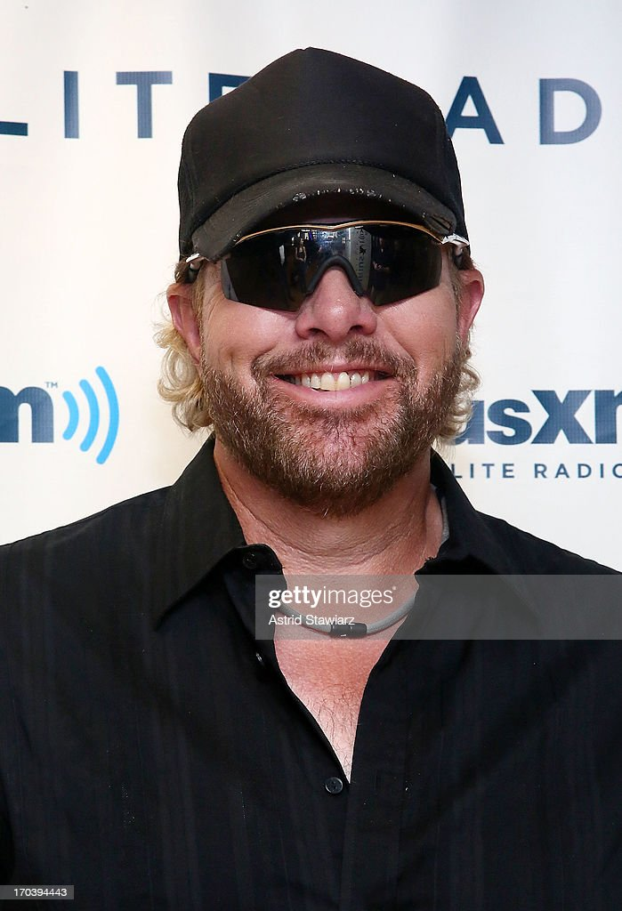 Singer <a gi-track='captionPersonalityLinkClicked' href=/galleries/search?phrase=Toby+Keith&family=editorial&specificpeople=204525 ng-click='$event.stopPropagation()'>Toby Keith</a> visits the SiriusXM Studios on June 12, 2013 in New York City.
