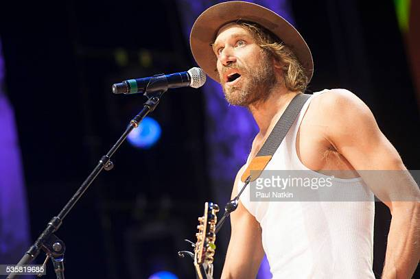 Singer Todd Snider performs at Farm Aid 2014 Raleigh North Carolina September 13 2014