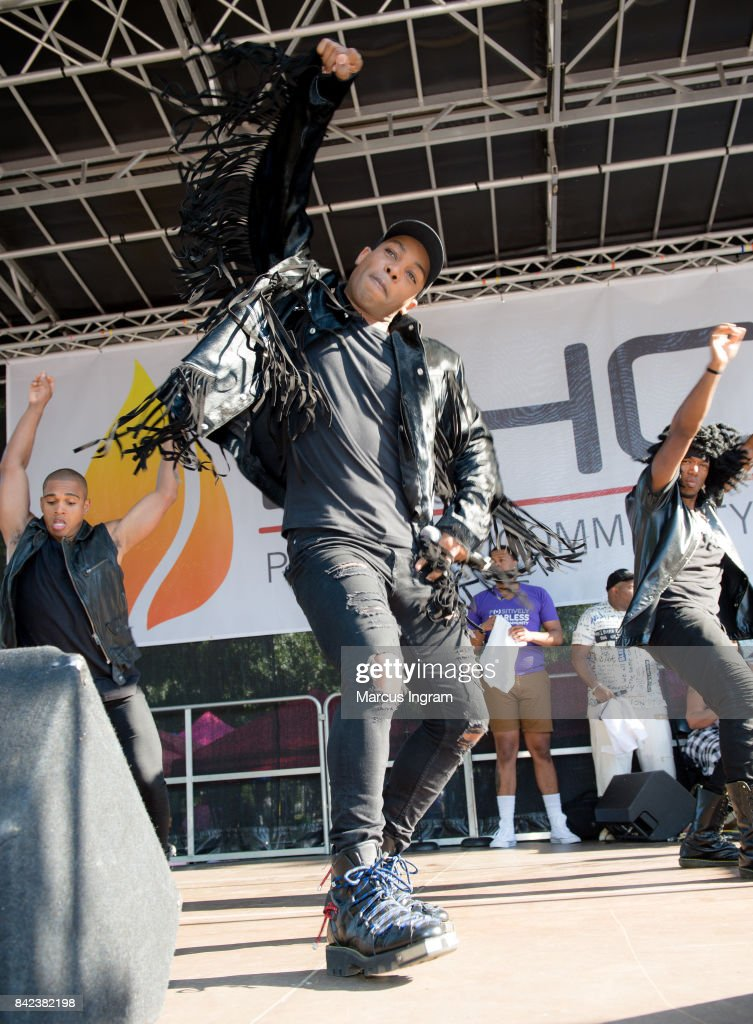 Singer Todrick Hall performs on stage during the 2017 Pure Heat Community Festival at Piedmont Park on September 3, 2017 in Atlanta, Georgia.