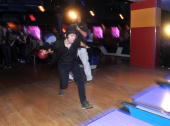Singer Tom Higgenson of Plain White T's attends the Plain White T's Bowl to benefit the VH1 Save The Music Foundation at Bowlmor Lanes on August 18...