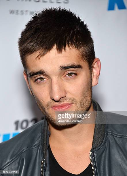 Singer Tom Parker of the band The Wanted attends the 1027 KIIS FM and E viewing party for the premiere of 'The Wanted Life' at W Westwood on May 28...