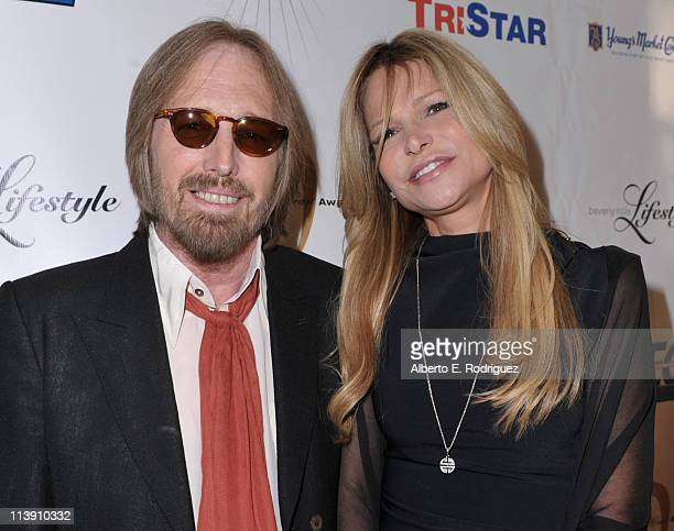 Singer Tom Petty and wife Dana Petty arrive to The Midnight Mission's 11th Annual Golden Heart Awards on May 9 2011 in Beverly Hills California