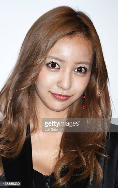 Singer Tomomi Itano attends the Amazing SpiderMan 2 'Bluray And DVD Release Event on August 21 2014 in Tokyo Japan