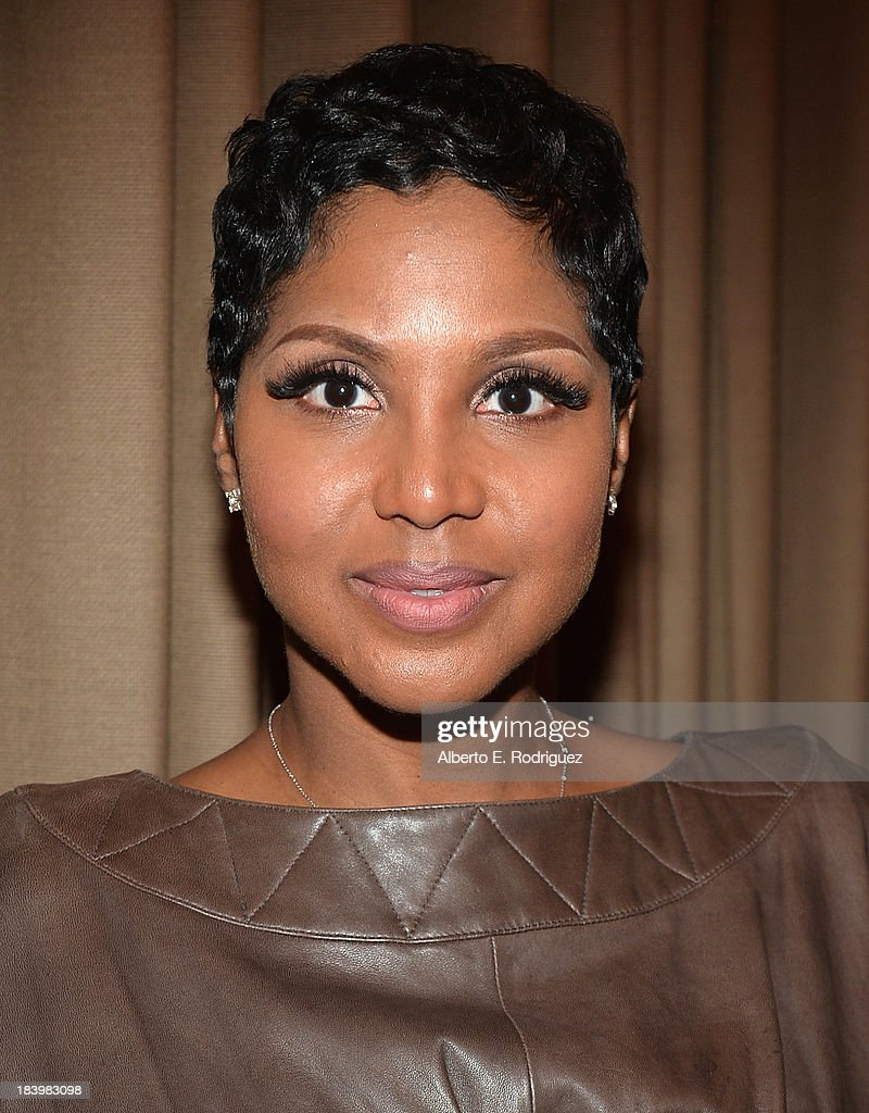 Singer <a gi-track='captionPersonalityLinkClicked' href=/galleries/search?phrase=Toni+Braxton&family=editorial&specificpeople=213737 ng-click='$event.stopPropagation()'>Toni Braxton</a> attends a ceremony honoring Kenny 'Babyface' Edmonds with the 2508th Star on the Hollywood Walk of Fame on October 10, 2013 in Hollywood, California.