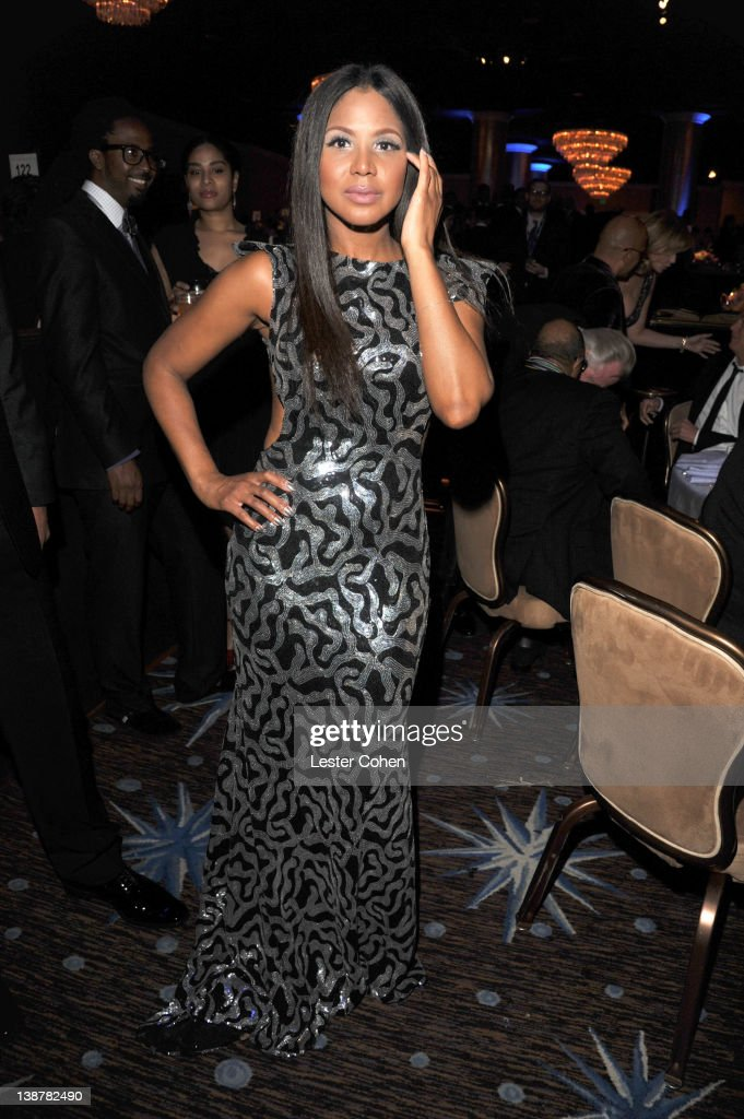 Singer Toni Braxton attends Clive Davis and The Recording Academy's 2012 Pre-GRAMMY Gala and Salute to Industry Icons Honoring Richard Branson at The Beverly Hilton hotel on February 11, 2012 in Beverly Hills, California.