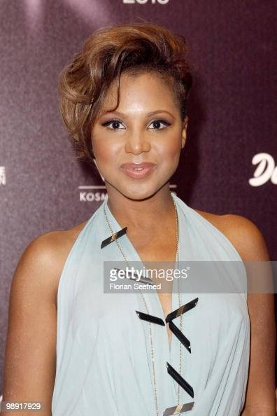 Singer Toni Braxton attends the 'Duftstars 2010' at the Station on May 7 2010 in Berlin Germany
