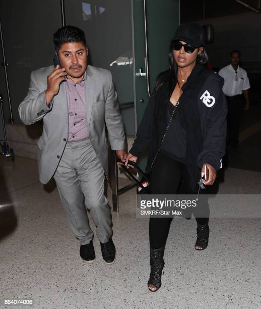 Singer Toni Braxton is seen on October 20 2017 in Los Angeles CA