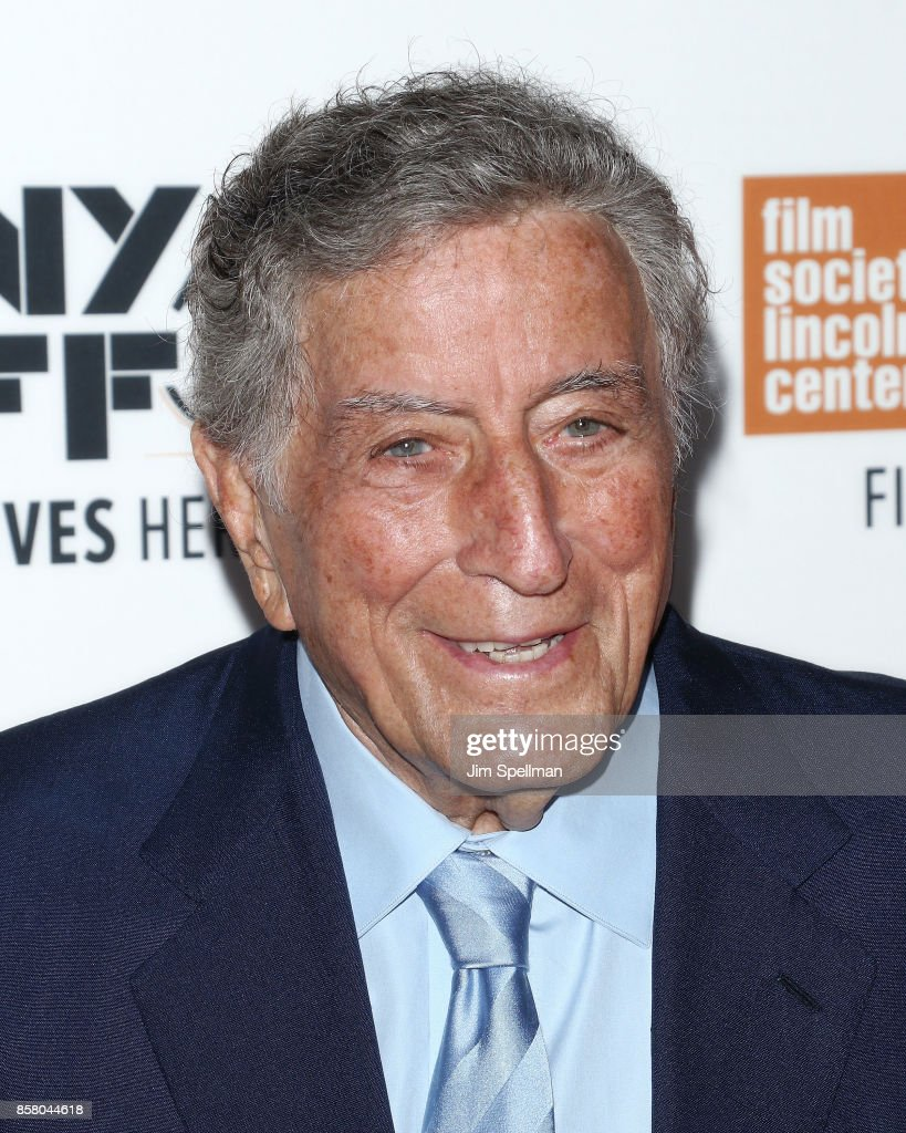 Singer Tony Bennett attends the 55th New York Film Festival 'Spielberg' premiere at Alice Tully Hall on October 5, 2017 in New York City.