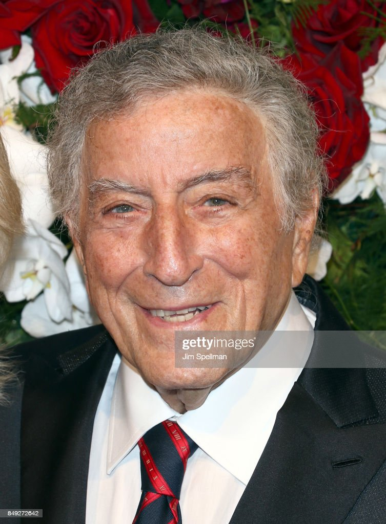 Singer Tony Bennett attends The American Theatre Wing's Centennial Gala at Cipriani 42nd Street on September 18, 2017 in New York City.