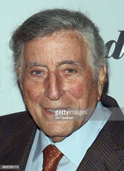 Singer Tony Bennett attends the screening of Sony Pictures Classics' 'The Comedian' hosted by The Cinema Society with Avion and Jergens at Museum of...