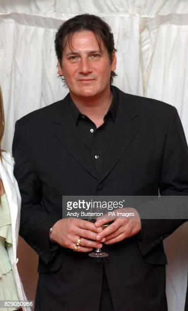 Singer Tony Hadley arrives at Gordon Ramsay's temporary restaurant in London's Brick Lane 10 celebrities will man the Michelinstarred chefs kitchen...