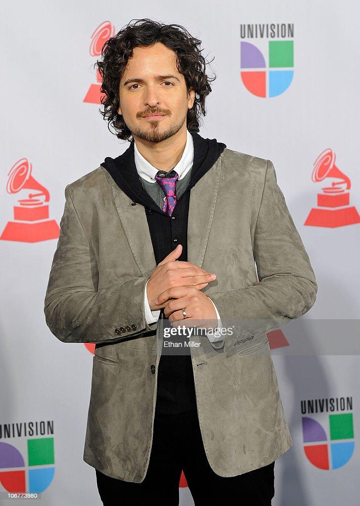 Singer Tony Torres arrives at the 11th annual Latin GRAMMY Awards at the Mandalay Bay Resort & Casino on November 11, 2010 in Las Vegas, Nevada.