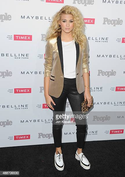 Singer Tori Kelly arrives at People's 'Ones To Watch' Event at Ysabel on September 16 2015 in West Hollywood California